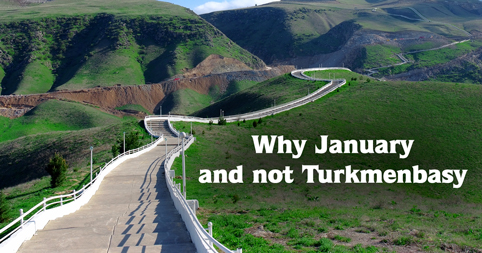Why January and not Turkmenbasy