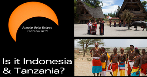 Is it Indonesia and Tanzania?