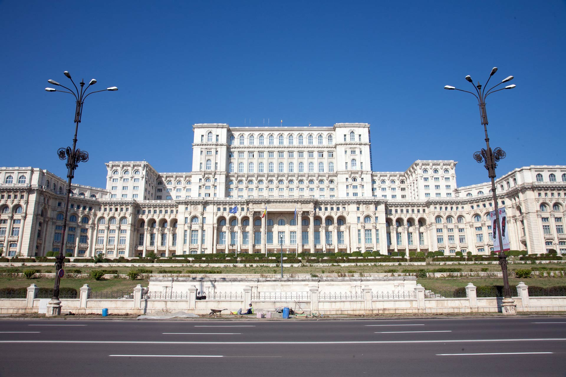 Palace of Parliament, Bucharest (Bucuresti), Romania
