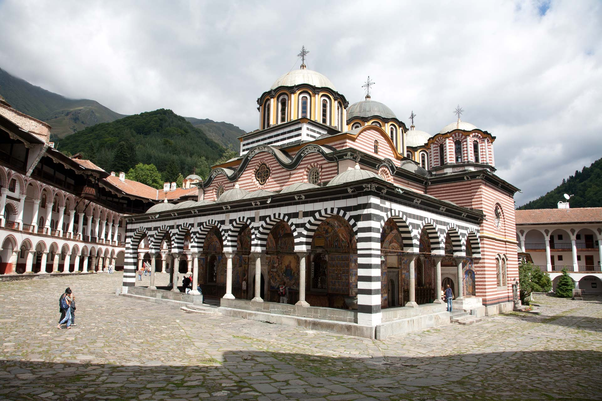 Church of the Nativity of the Virgin, Rila Monastery, Blagoevgrad, Bulgaria