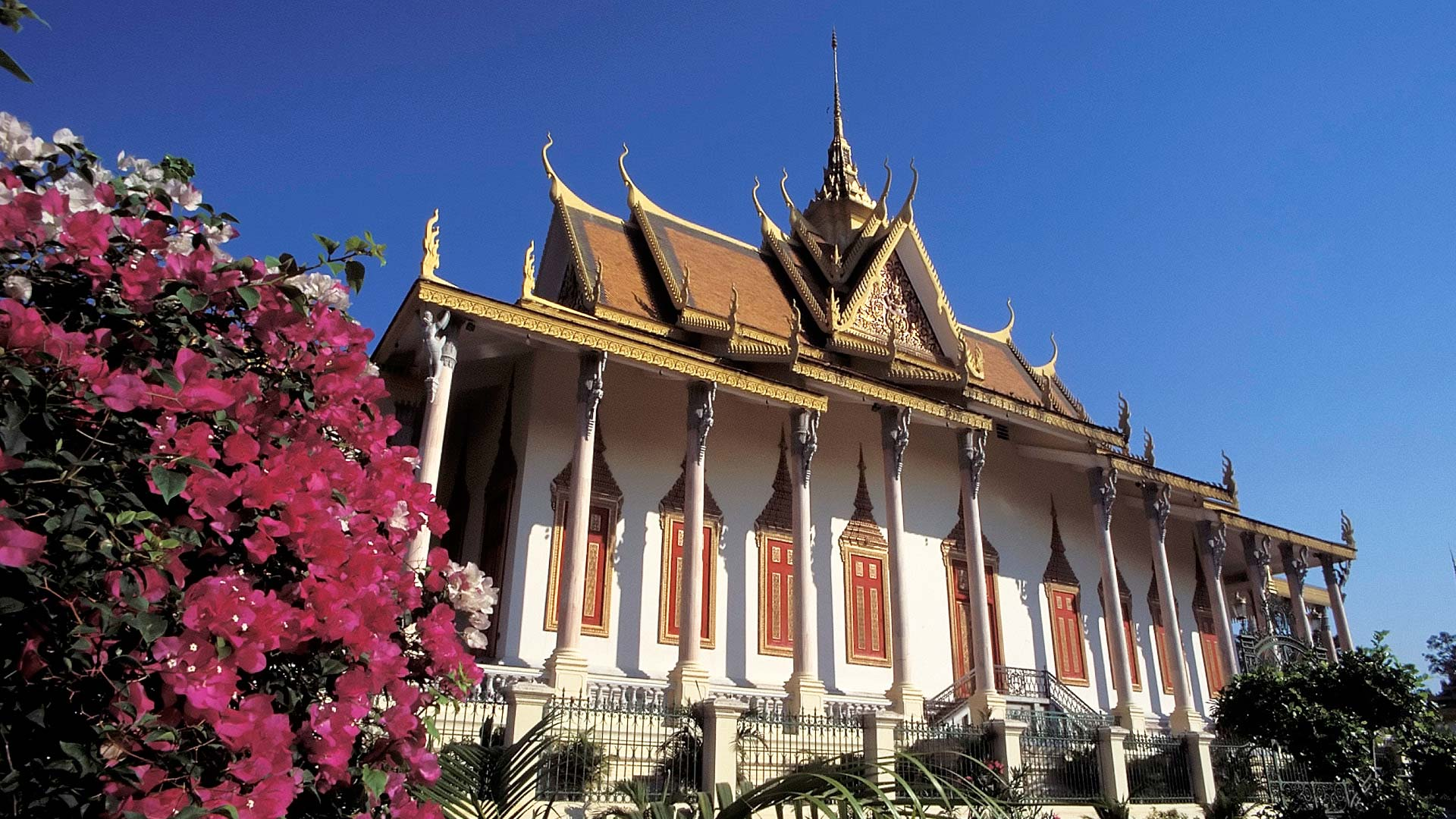 Silver Pagoda at the Royal Palace, Phnom Penh, Cambodia