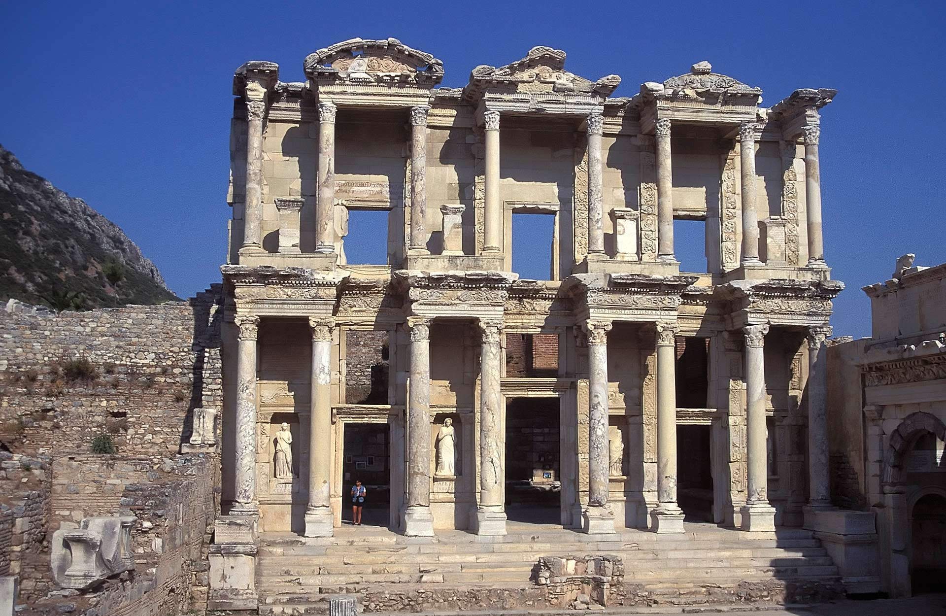 Celsus Library, Ephesus, Izmir, Turkey
