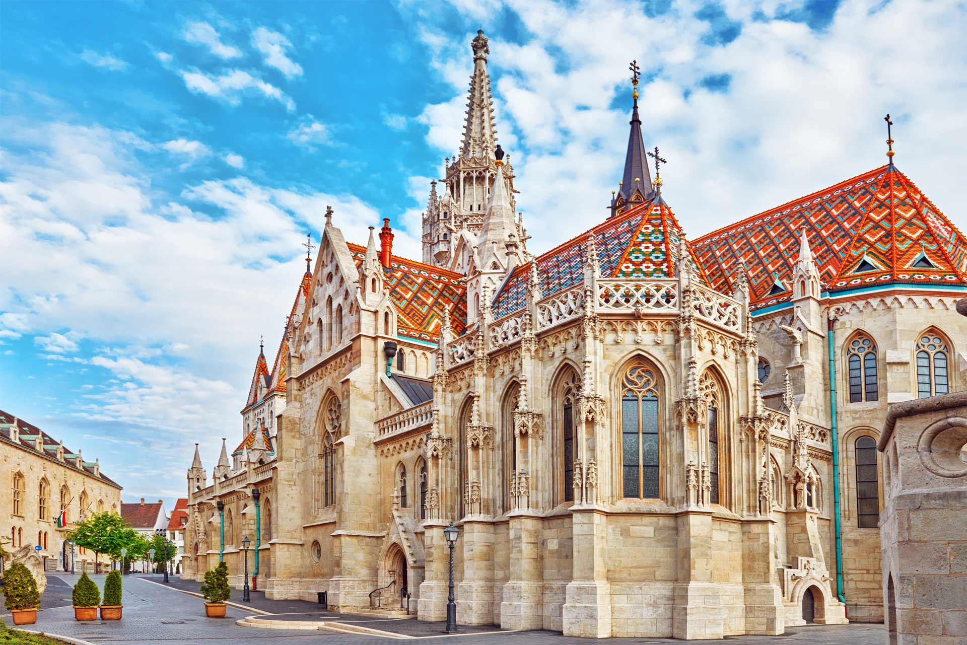 St. Matthias Church in Budapest. One of the main temple in Hungary.