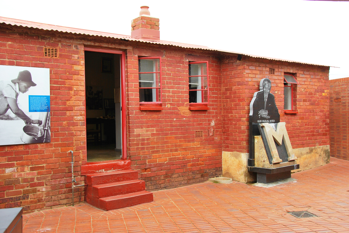 Nelson Mandela's House in Soweto South Africa