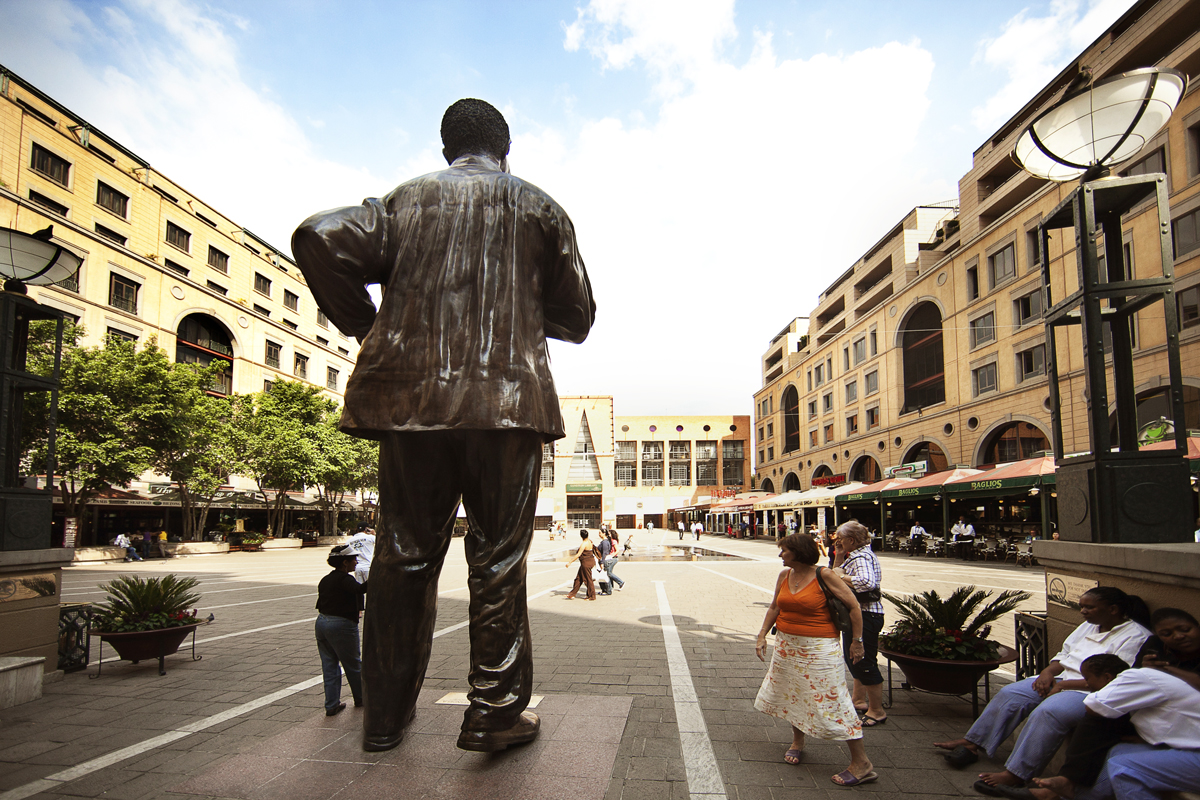 Mandela Square in Johannesburg, South Africa
