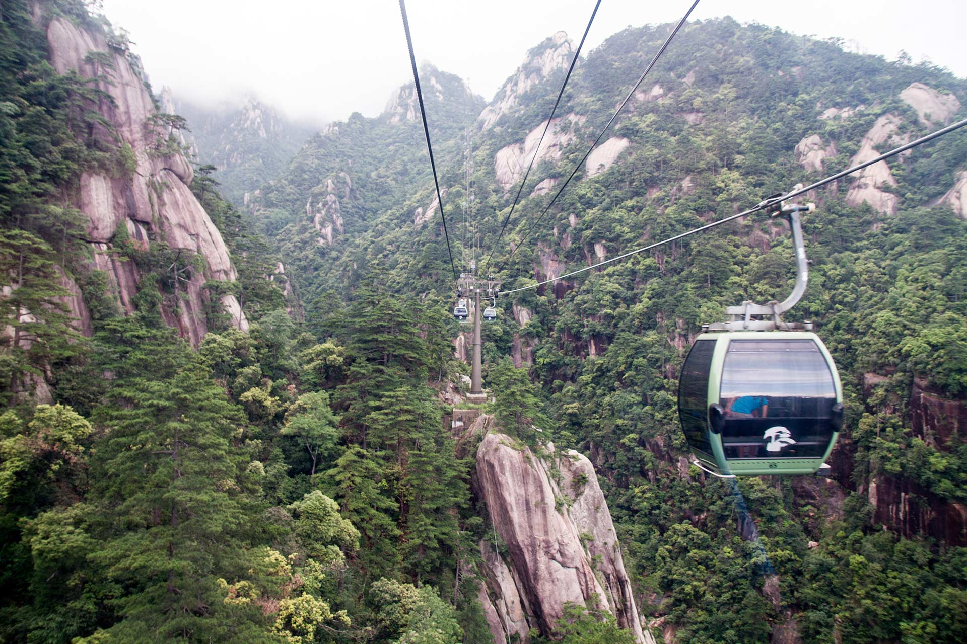 Cloud Valley Cableway, Mount Huangshan, Anhui, China
