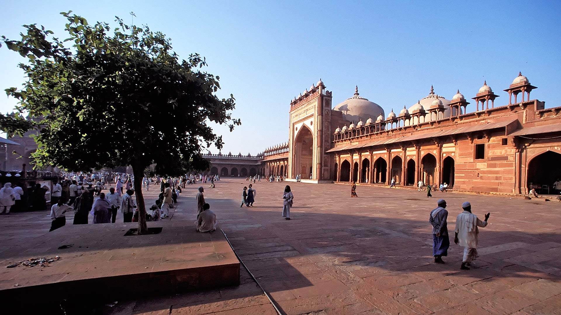 Friday Mosque at the Dargah Mosque, Fatehpur Sikri, Uttar Pradesh, India