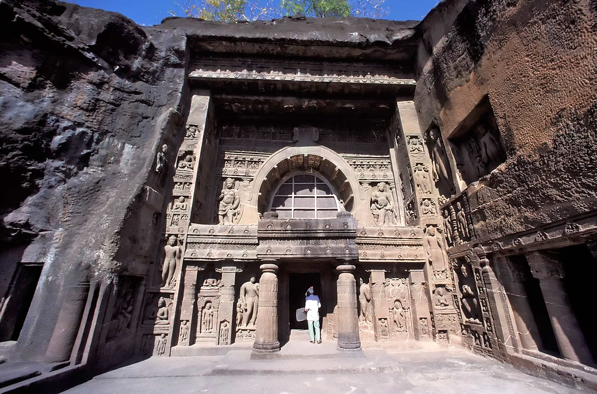 Cave 19, Ajanta Caves, Maharashtra, India