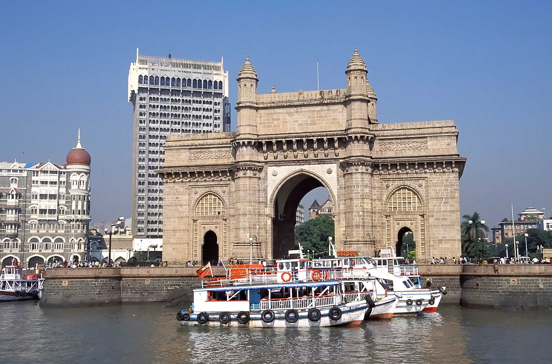 Gateway of India, Mumbai's most famous monument, Maharashtra, India