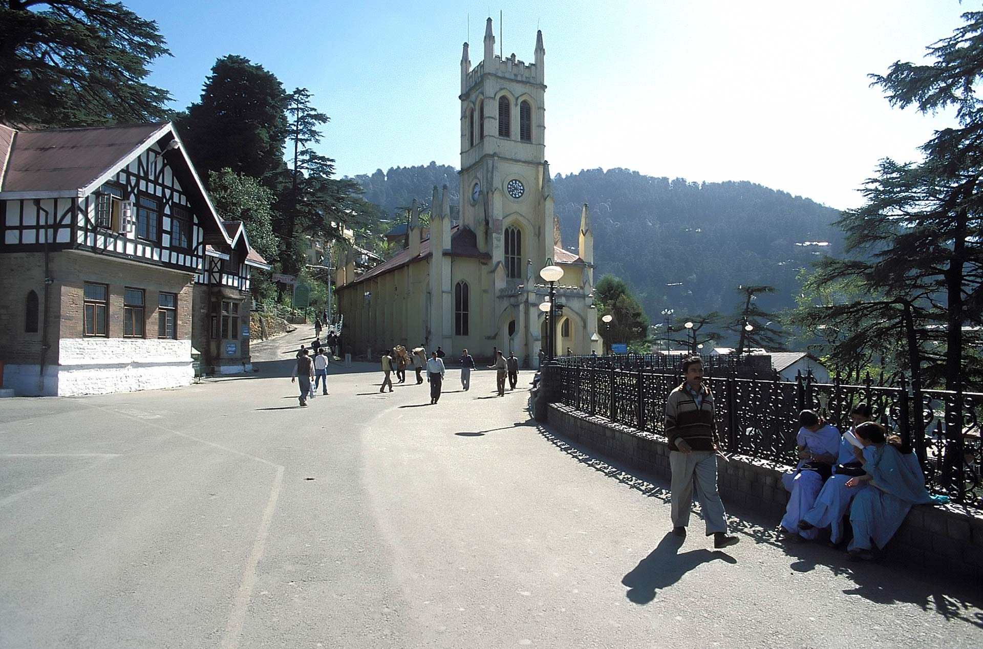 Christ Church on the Ridge, Shimla, Himachal Pradesh, India