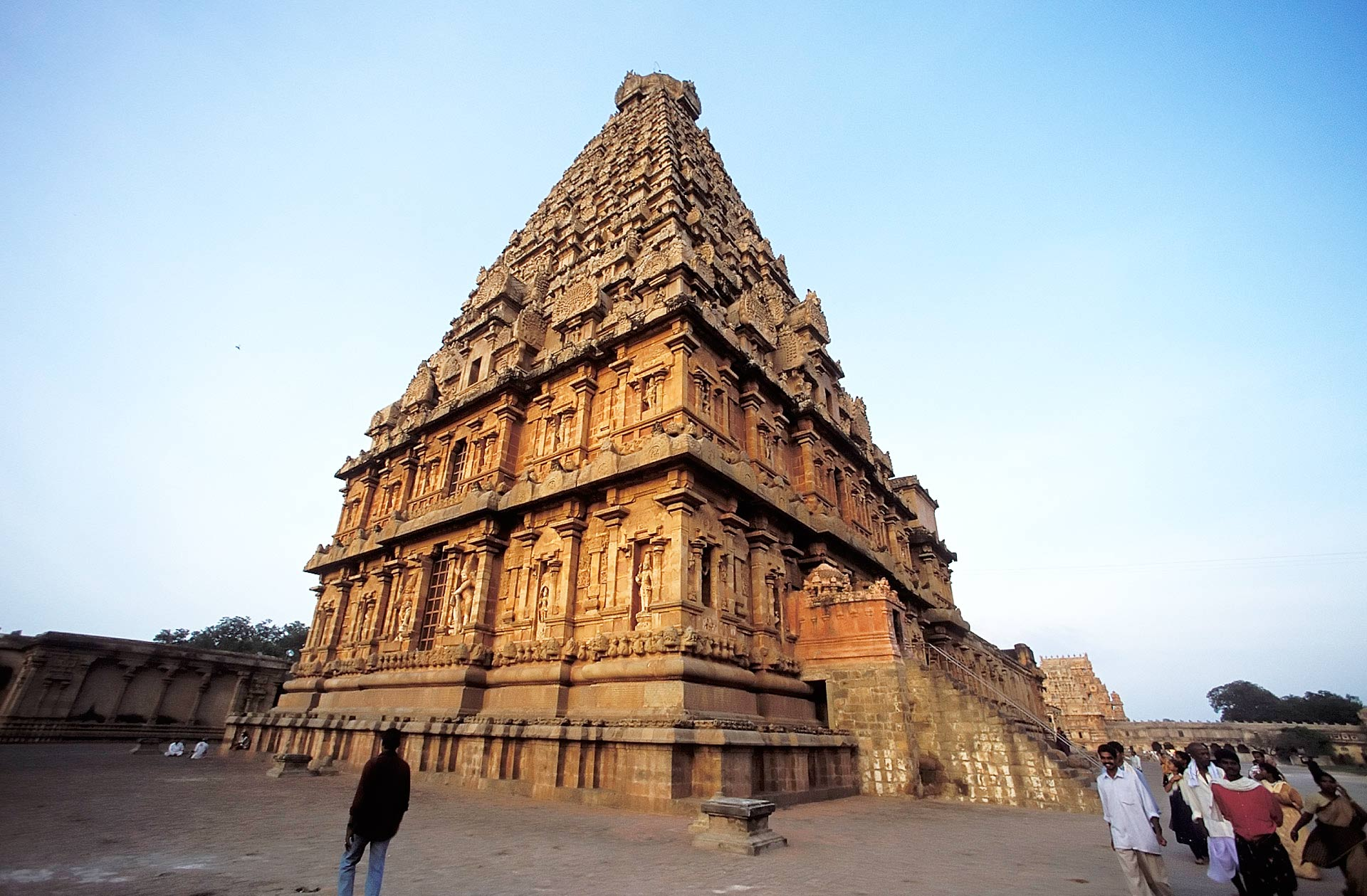 Main Temple of the Brihadisvara Temple, Thanjavur, Tamil Nadu, India