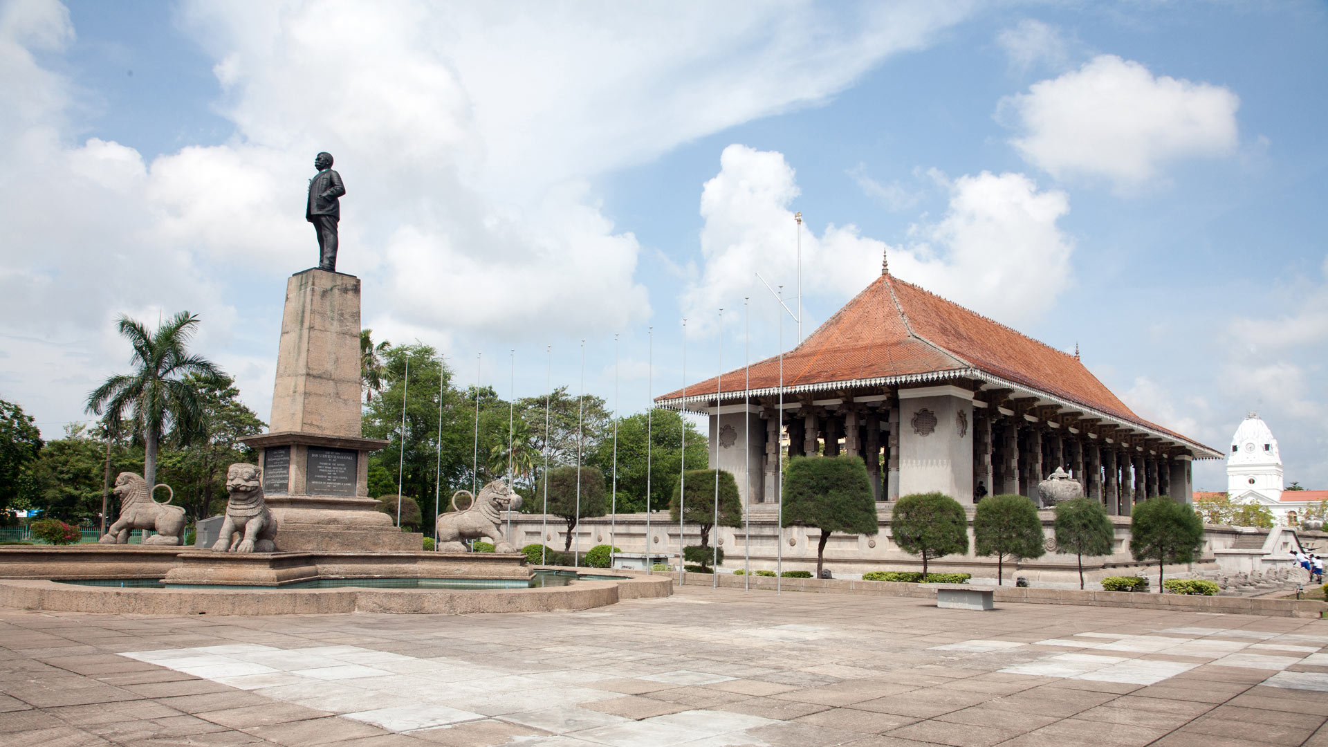 Independence Memorial, Colombo, Western Province, Sri Lanka