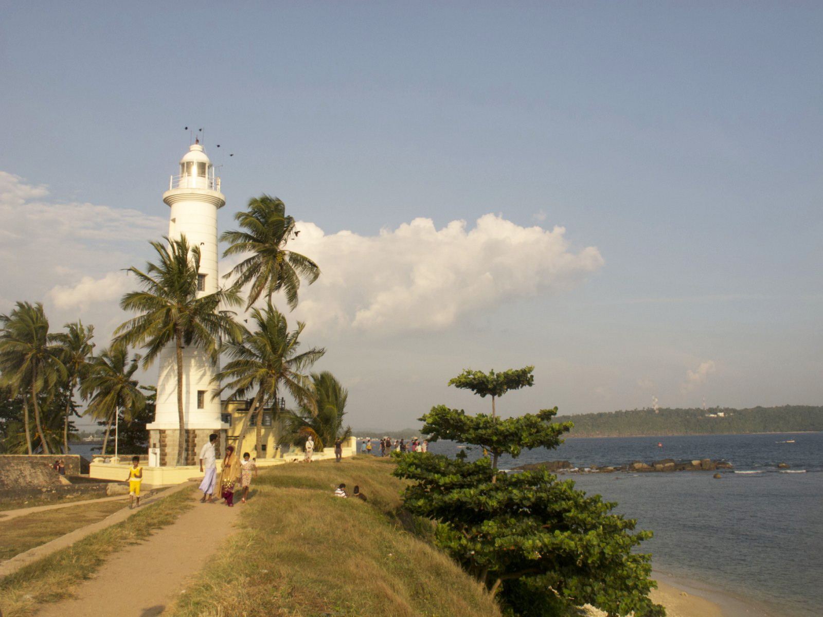 Galle Fort in Bay of Galle on southwest coast of Sri Lanka