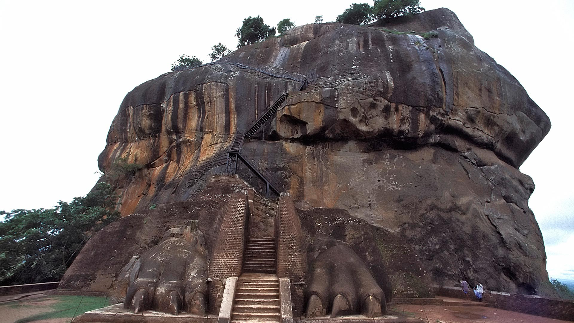 Lion platform, Sigiriya, North Central Province, Sri Lanka