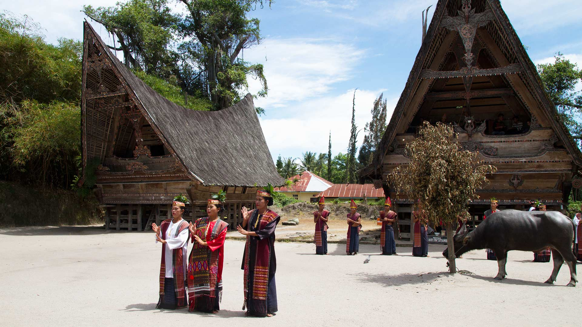 Samosir Island, Lake Toba, North Sumatra, Indonesia