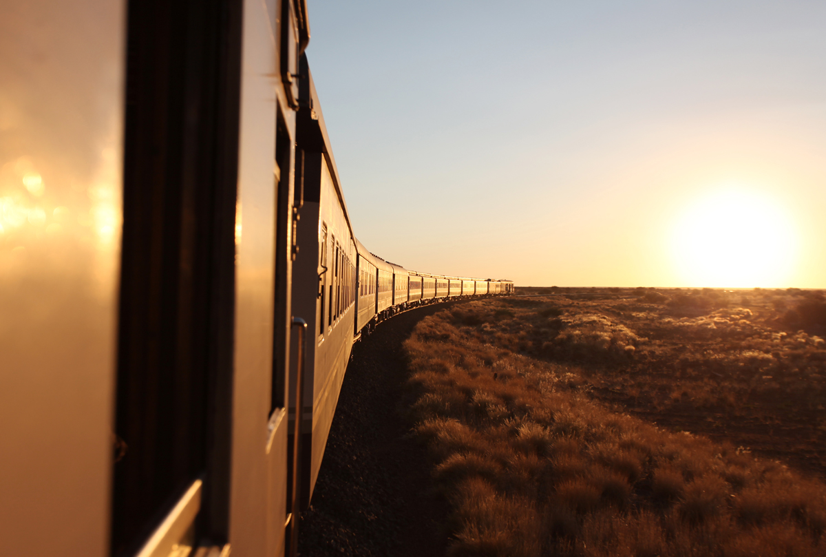 African Explorer - Your private train sunset