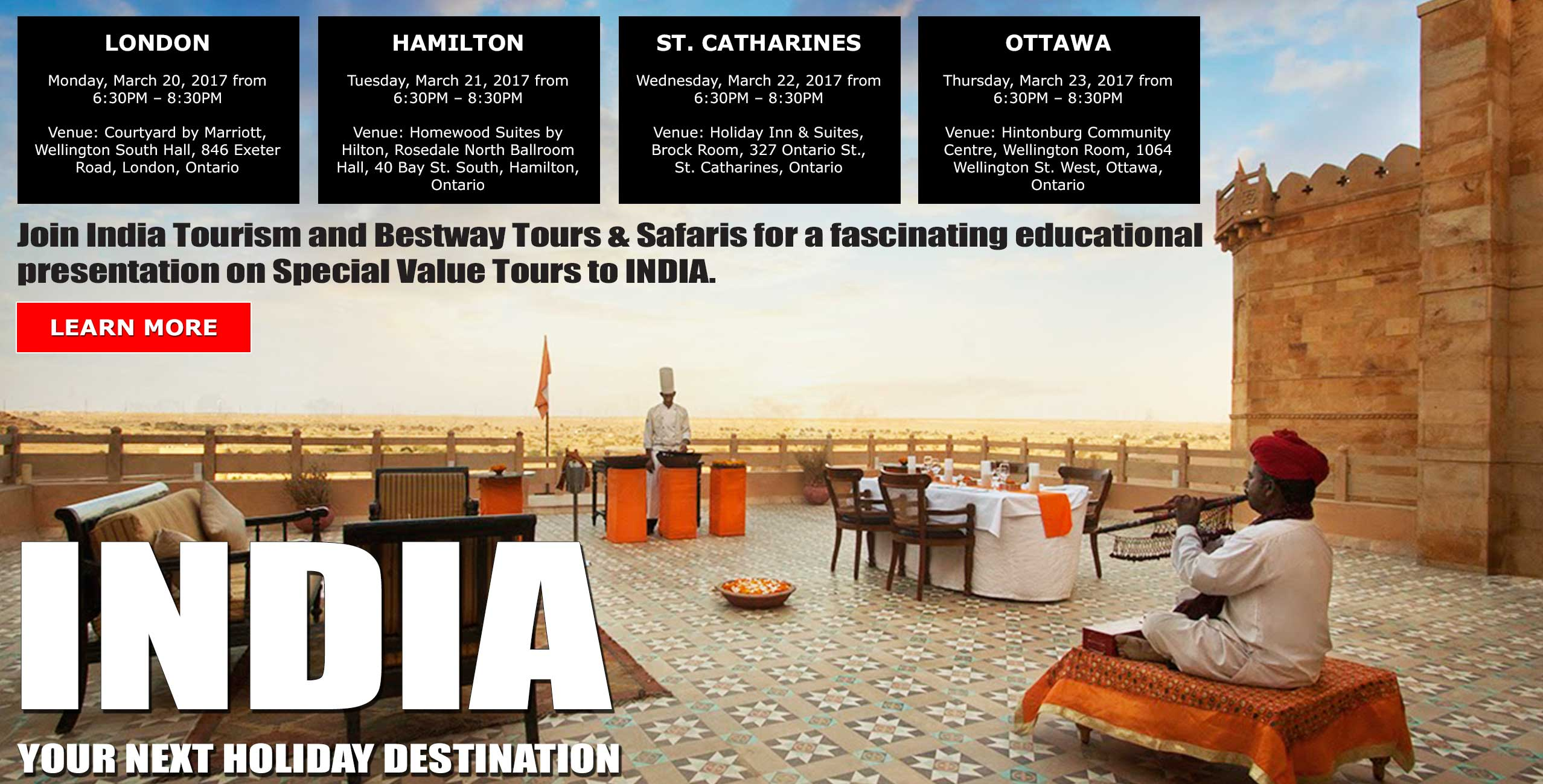 India - your next holiday destination
